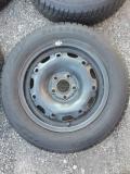 Obrázek k inzerátu Zimní pneu Firestone 165/70 R14 s disky